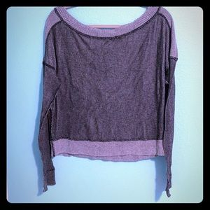 Michael Stars Reversible Sweater.